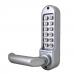 BL5051ECP codeslot met deurkruk en dag en nachtschoot aan 2 zijde een codebedienpaneel